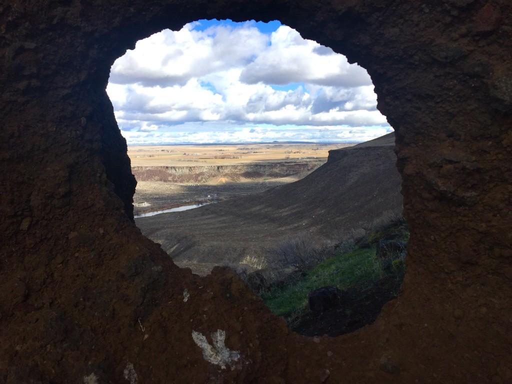 An interesting rock formation. Dan Krueger Photo