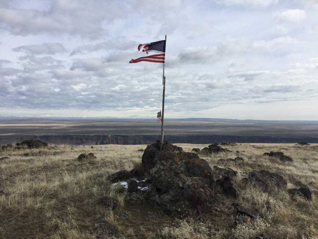The summit of Sinker Butte. Dan Krueger Photo