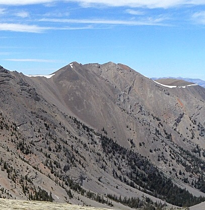 North Massacre Mountain. John Platt Photo