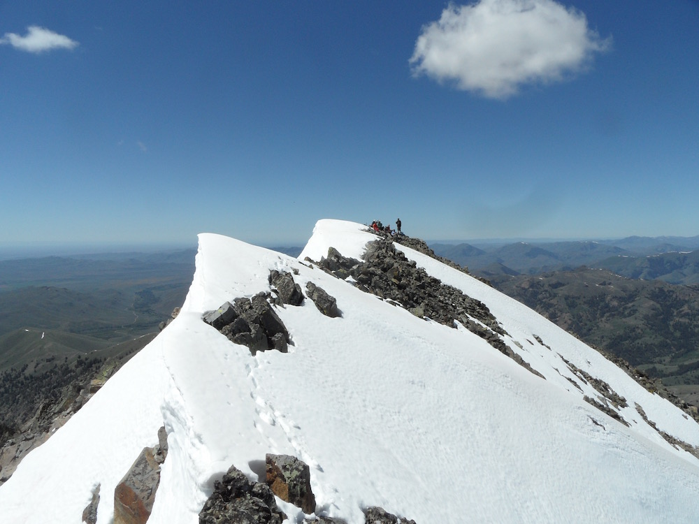 Scorpion Peak summit. John Platt Photo