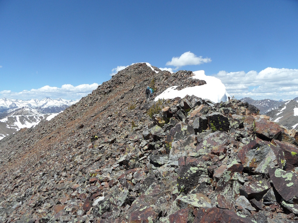 The summit of Pincer Peak. John Platt Photo