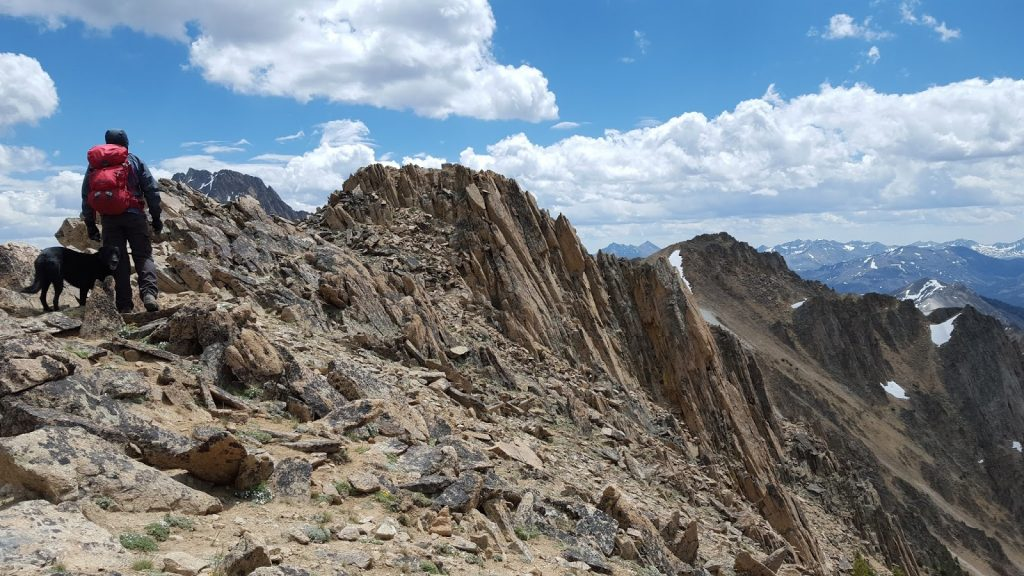 The summit ridge of Patterson Peak. Tom Cox Photo