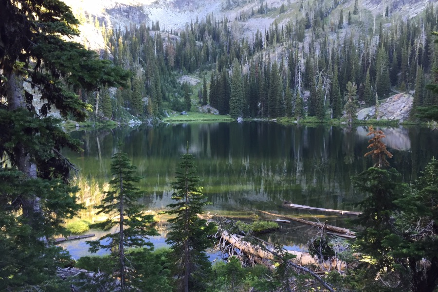 Satan Lake.
