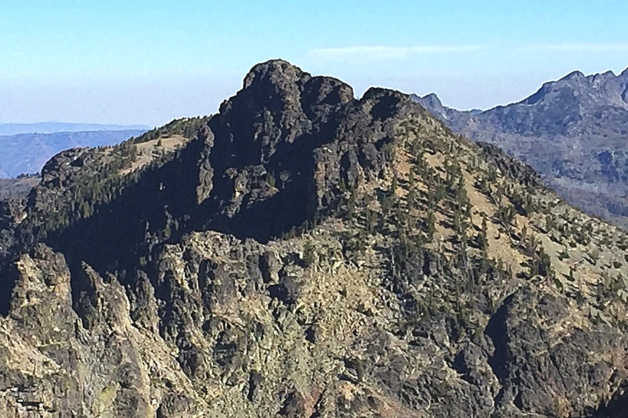 Monument Peak from John Milton Peak