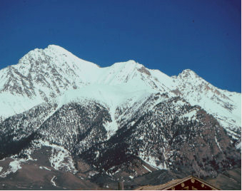 Mount Borah. Lyman Dye Photo