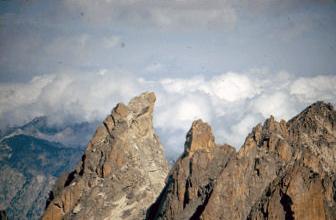 Warbonnett Peak. Lyman Dye Photo