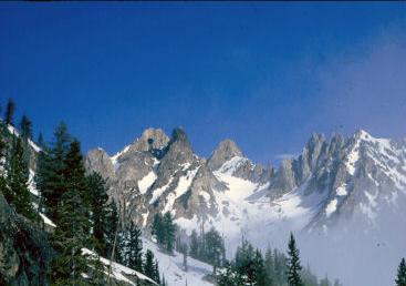Mount Thompson. Lyman Dye Photo