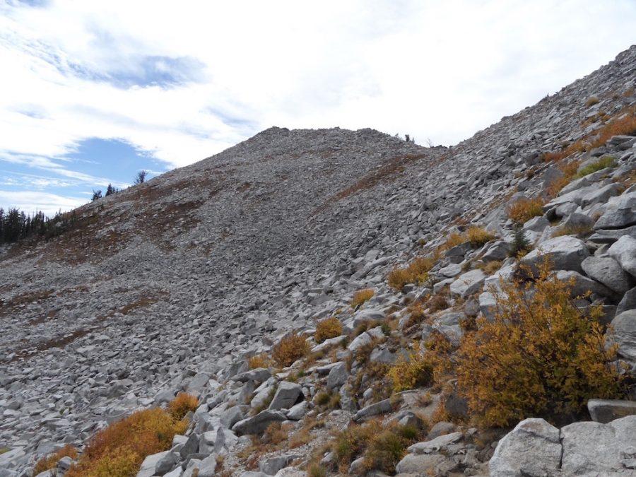 Idler Peak. John Platt Photo