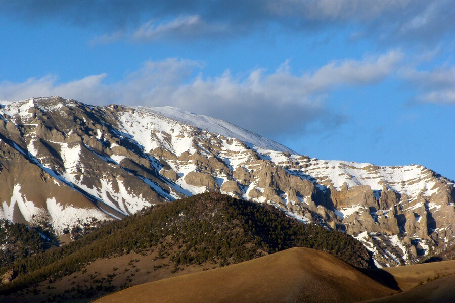 Al West Peak. Dan Robbins Photo.