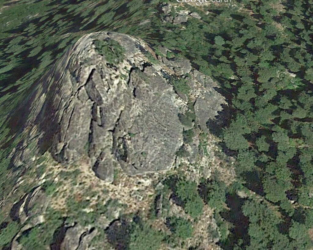 A Google Earth rendering of Payette Point.