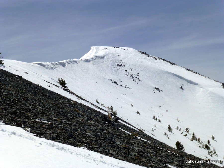 Rosencrance Peak. Dan Robbins Photo