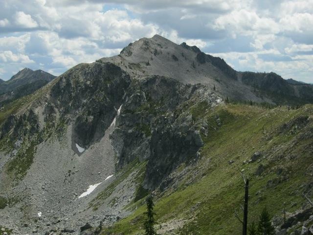 Shale Mountain from the state line ridge to the north. Dan Saxton Photo