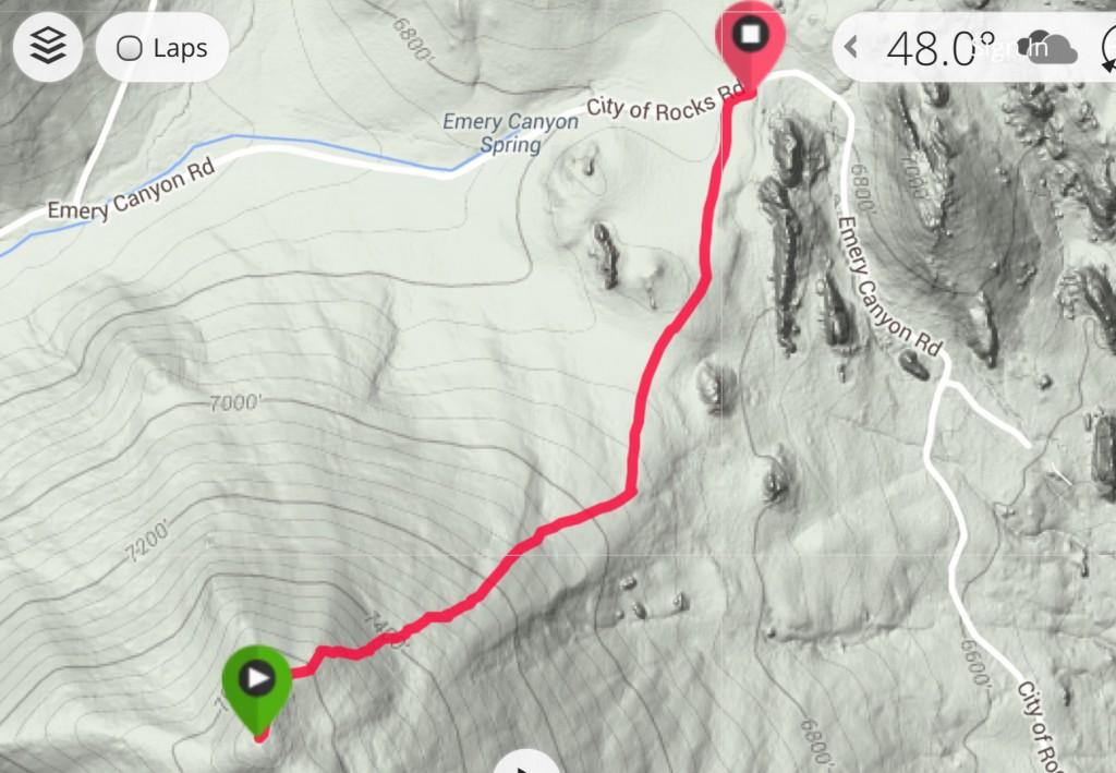 My GPS track.