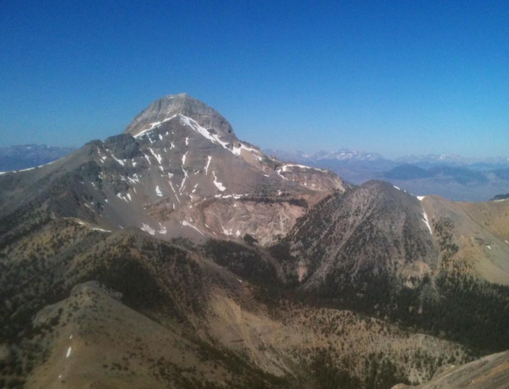 Bell Mountain from Meadow Peak.