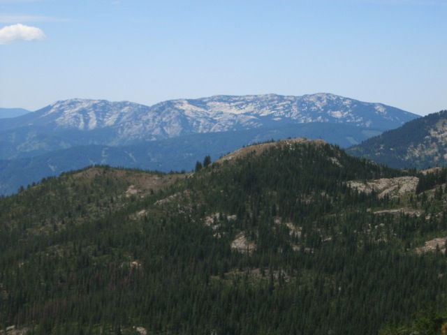 Pot Mountain, from the Moose Creek Buttes. Dan Saxton Photo