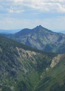 Williams Peak from Shale Mountain. Dan Saxton Photo