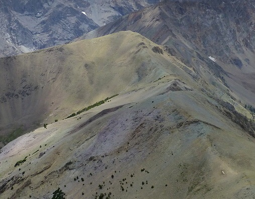 Peak 10727 from Griswold Peak. Dan Robbins Photo
