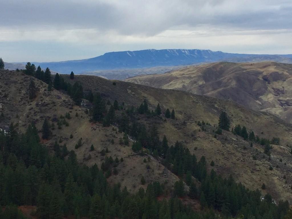 Squaw Butte from Castle Rock. Dan Krueger Photo