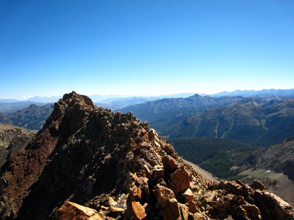 North Ryan Peak (North Ryan Peak). George Reinier Photo