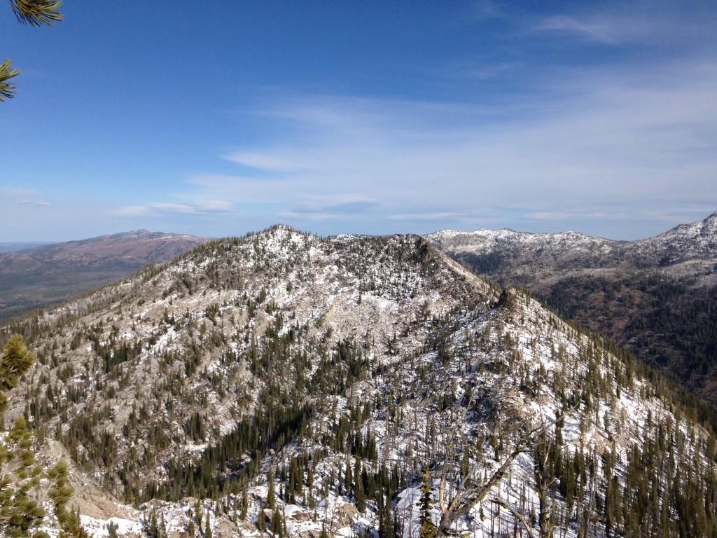 Pearl Peak from Peak 8347 (Black Pearl Peak)