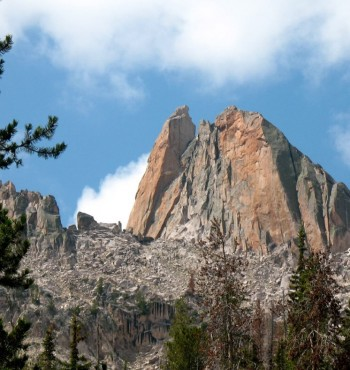 East Face of North Raker. Ray Brooks Photo