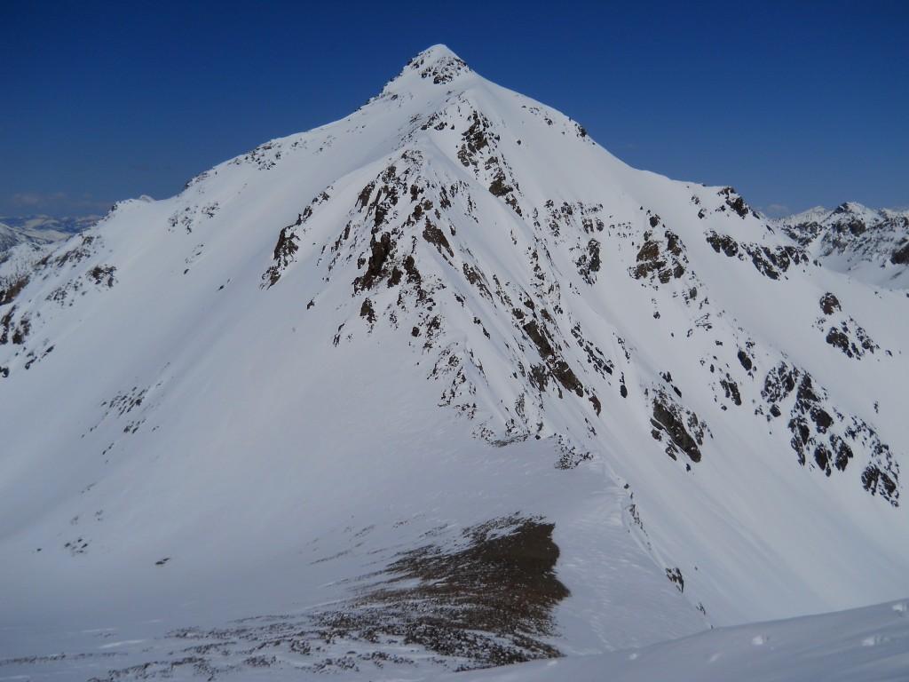 Lorenzo Peak from the summit of Badacious Peak. Pat Mcgrane Photo