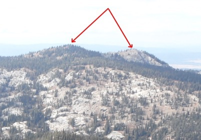 Twin Peaks viewed from the east. John Platt Photo