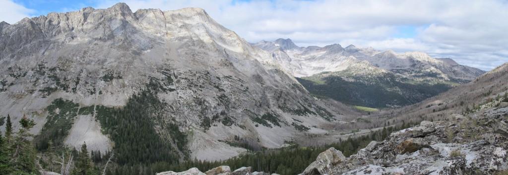 Howard Peak viewed from the north slopes of Brocky Peak.