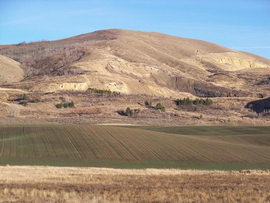 Fox Hills Highpoint el 7150', prominence 560'. Rick Baugher Photo