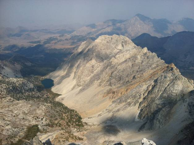 Merriam Pinnacle viewed from the east face of Idaho.