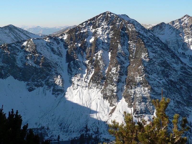 The north face of Ebony Peak. Dan Robbins Photo