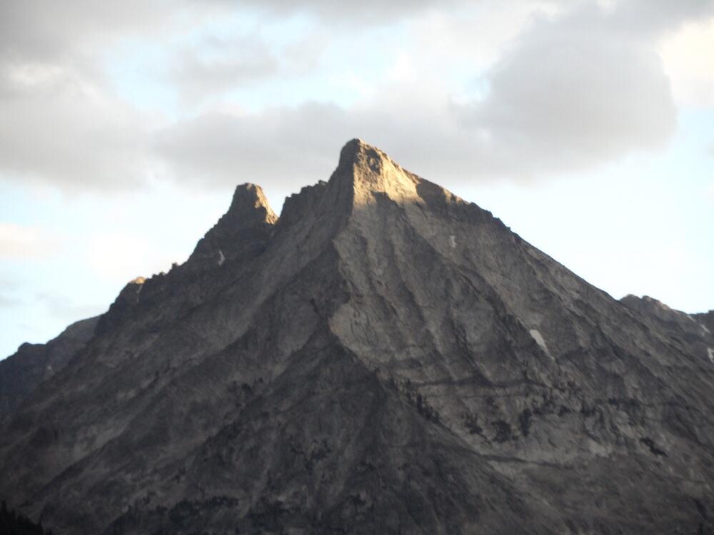 Mustang Peak. John Platt Photo
