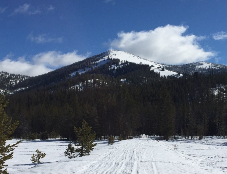 Copper Mountain viewed from the west.