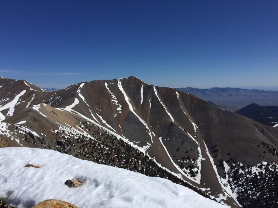 Swanson Peak viewed from Sunny Bar Peak.