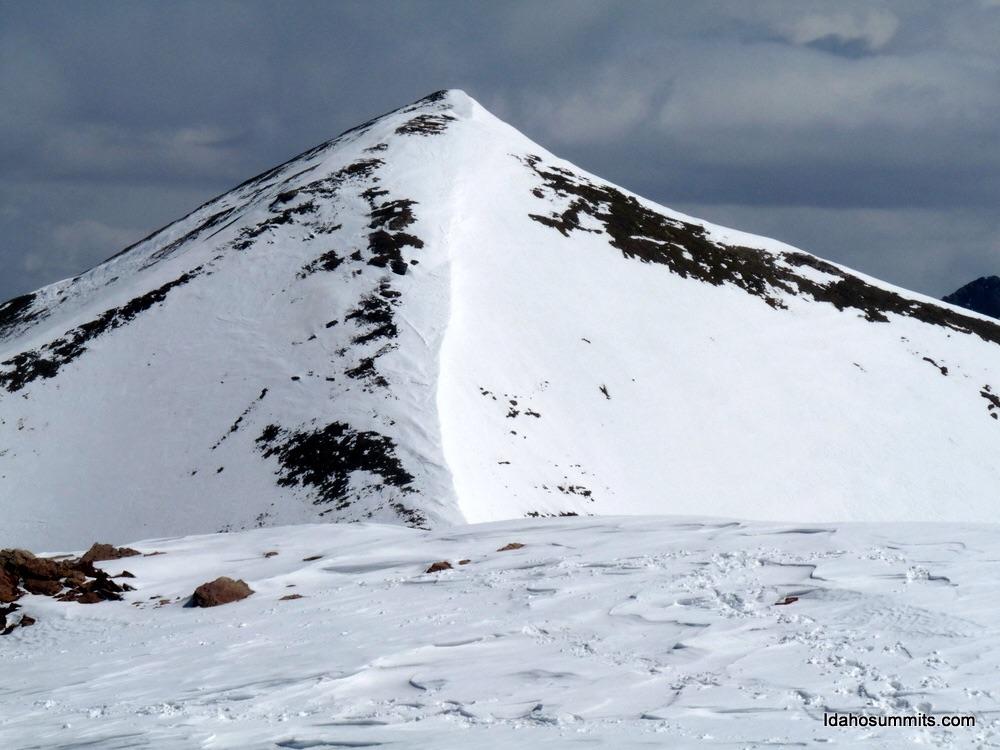 Big Sister Peak from Little Sister Peak. Dan Robbins Photo