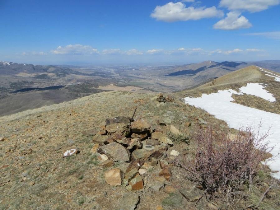 The Indian Mountain summit. Steve Mandella Photo