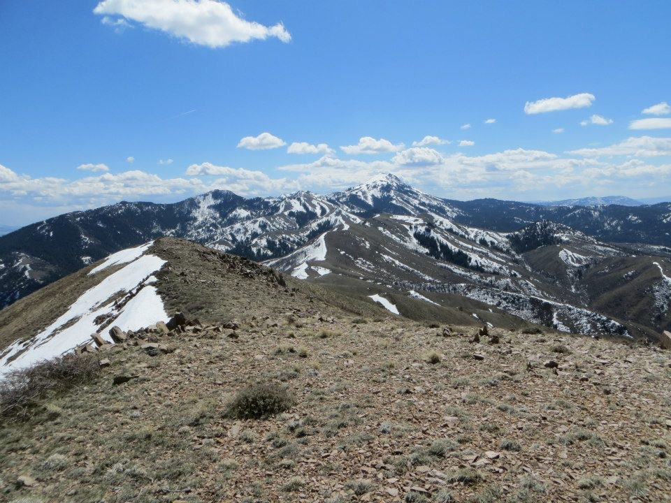 Looking south toward Scout Mountain. Steve Mandella Photo