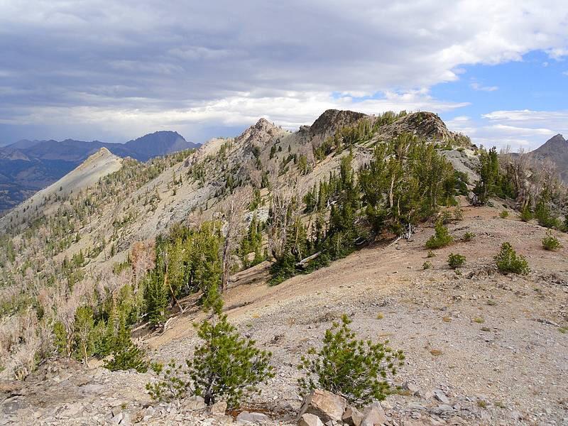 McRae Peak. Dave Pahlas Photo