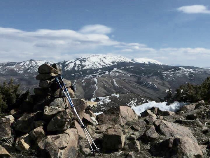 The summit of Slate Mountain. Steve Mandella Photo