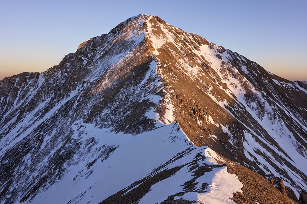 Little Diamond Peak. Larry Prescott Photo