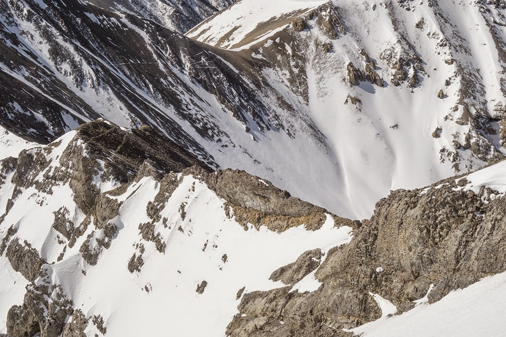 The Close Shave ridge section viewed from above. Larry Prescott Photo
