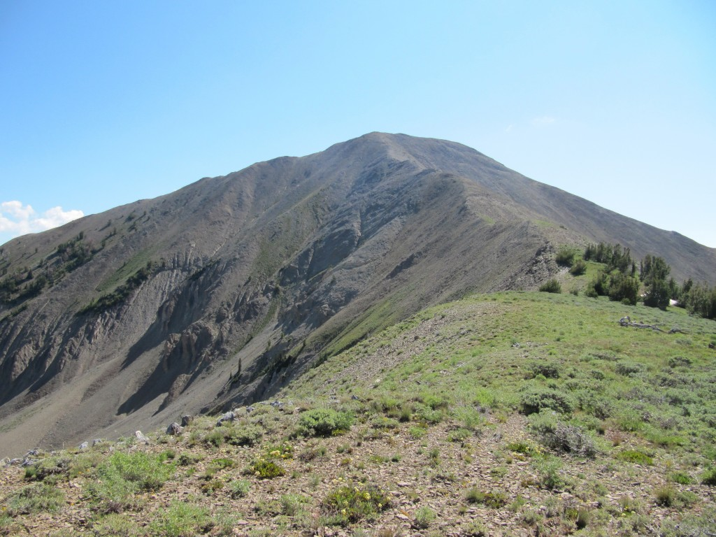 Grays Peak summit ridge. Margo Mandella Photo