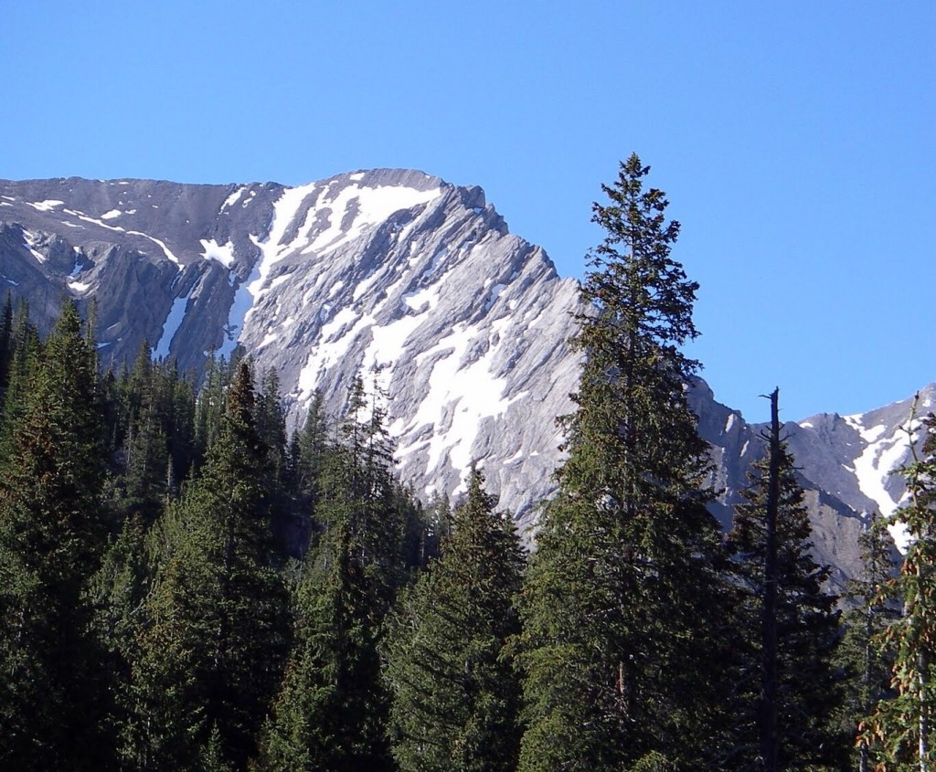 One more view of the peak from a slightly different angle. George Reinier Photo