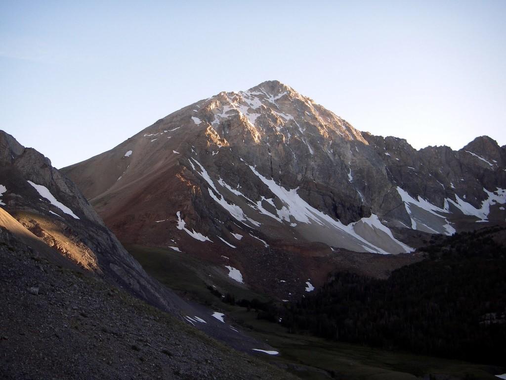 White Cap Peak. George Reinier Photo