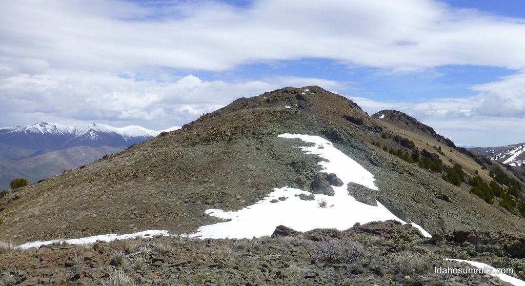 Roundup Peak. Dan Robbins photo