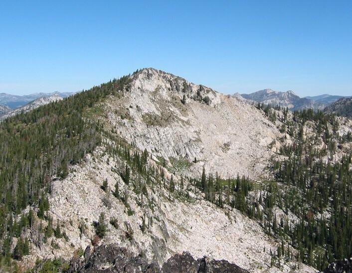 Snowslide Peak. John Platt Photo