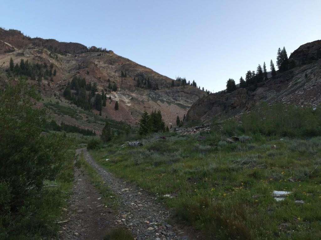 Little Fall Creek approach.