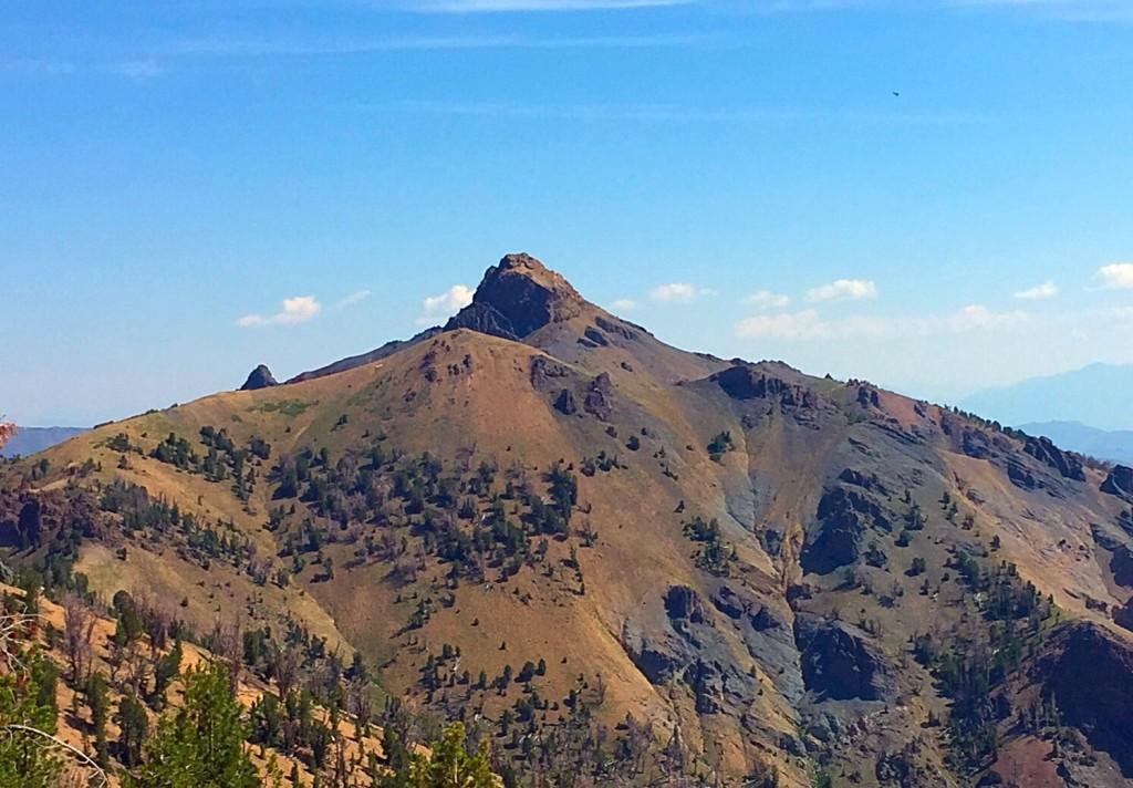 Mystery Peak from Peak 10350.