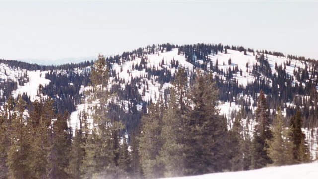 Pilot Peak viewed from the slopes of Sunset Mountain. Dan Robbins Photo
