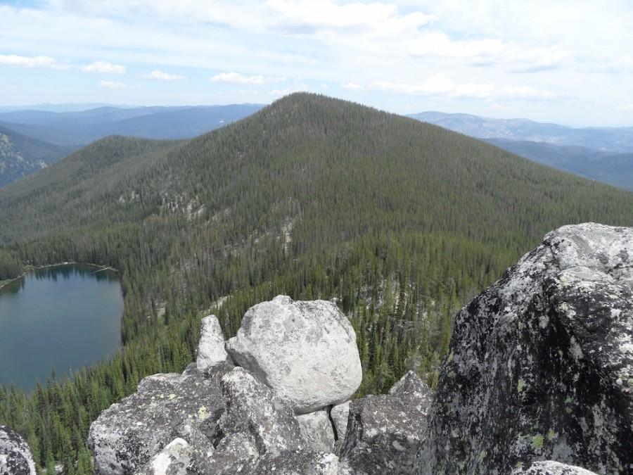 Lake Rock Peak from Lake Rock. John Platt Photo